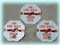 1979 Beach Badges