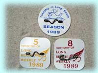Beach Badges, Long Beach Island Beach Badge, Tag Collecting